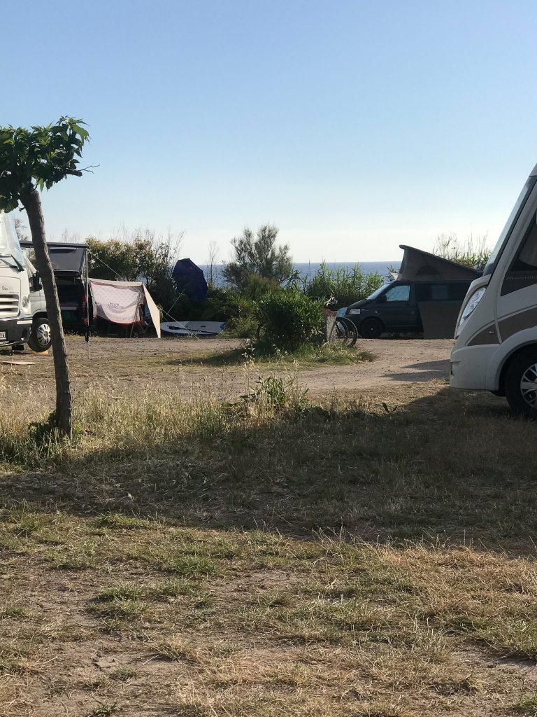 Il camper di Cera una Bolla a S'Abba Druche
